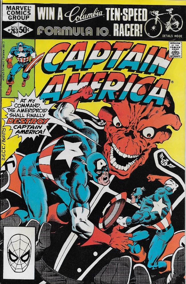 Couverture de Captain America (Marvel comics - 1968) -263- ..The Last Movie!
