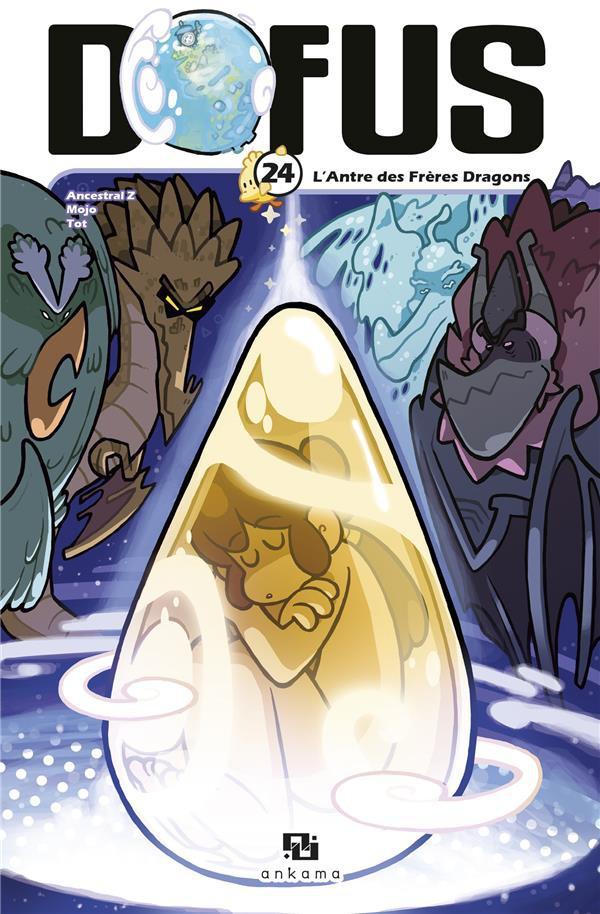 Couverture de Dofus -24- L'Antre des Frères Dragons