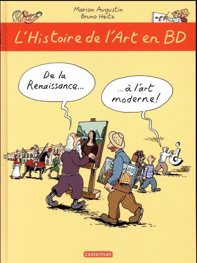 Couverture de L'histoire de l'art en BD -2- De la Renaissance à l'art moderne