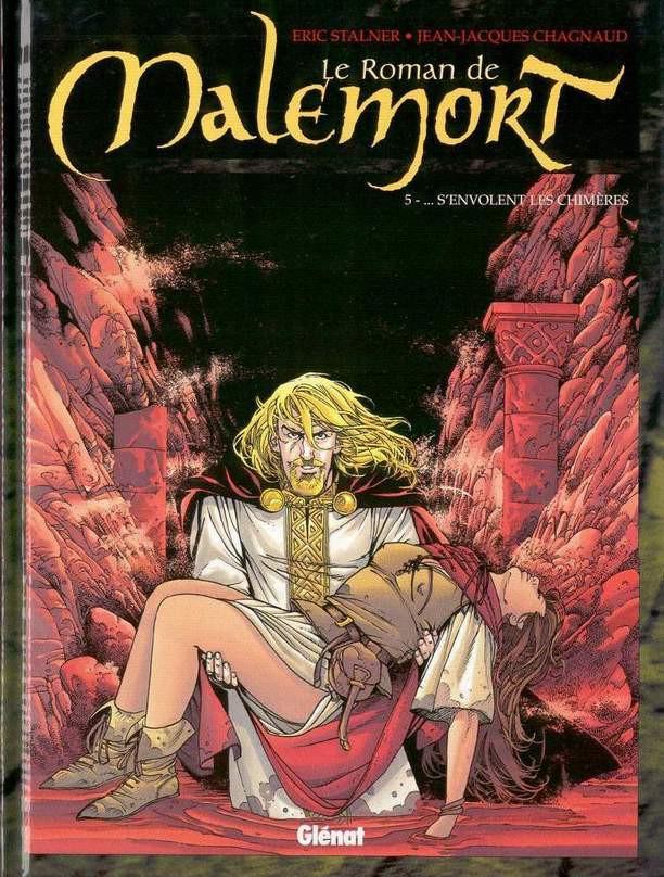 Couverture de Le roman de Malemort -5- ... S'envolent les chimères