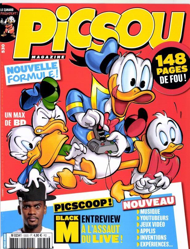 Couverture de Picsou Magazine -530- gouverneur de Maracacao des caraibes