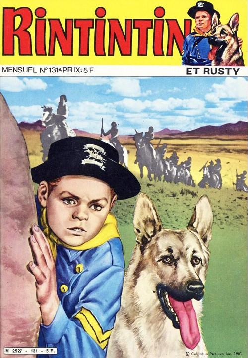 Couverture de Rin Tin Tin & Rusty (2e série) -131- On recherche rip masters