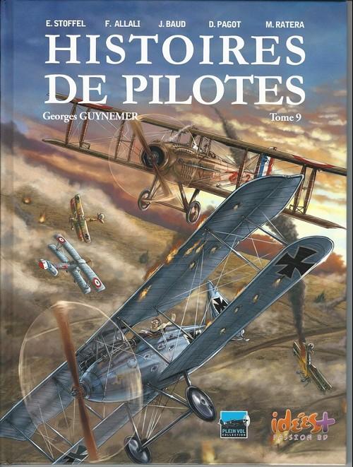 Couverture de Histoires de pilotes -9- Georges Guynemer