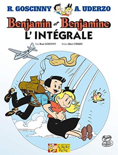 Couverture de Benjamin et Benjamine -INT- Benjamin et Benjamine - L'intégrale