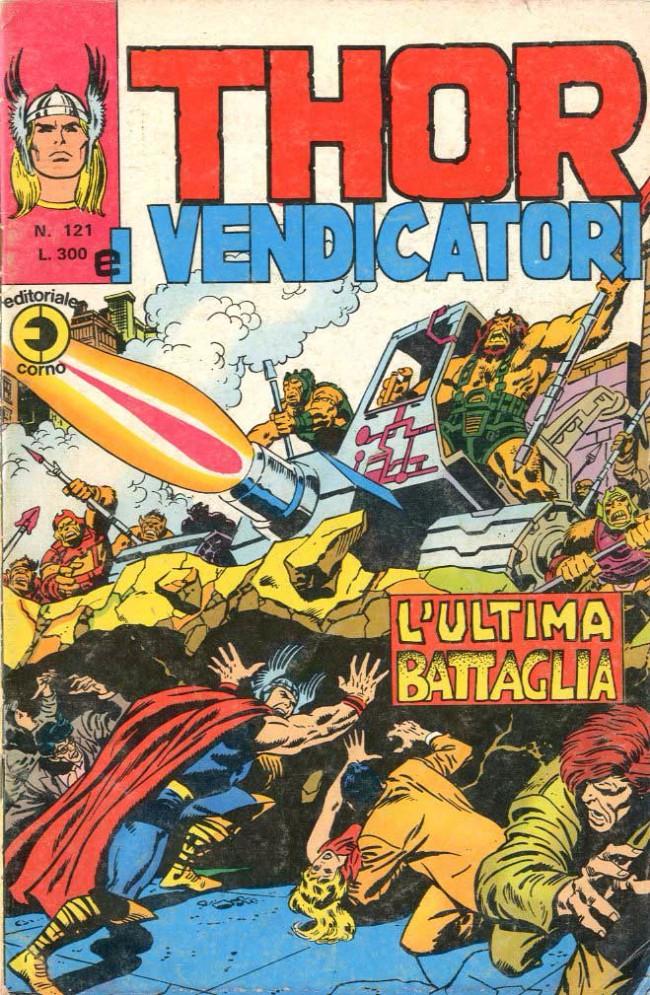 Couverture de MiticoThor (Il) -121- L'Ultima Battaglia
