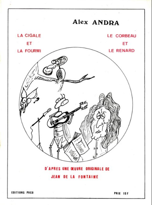 La Cigale Et La Fourmi Le Corbeau Et Le Renard