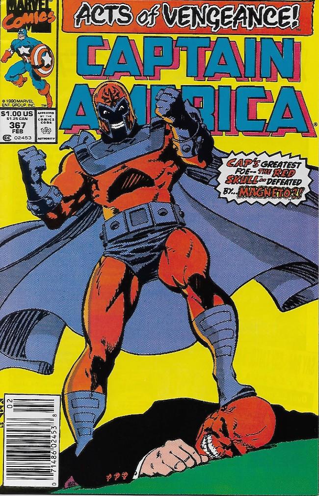 Couverture de Captain America (1968) -367- Magnetic Repulsion