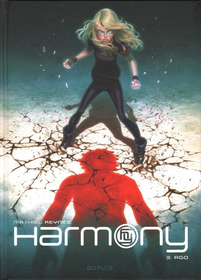 Couverture de Harmony -3- Ago
