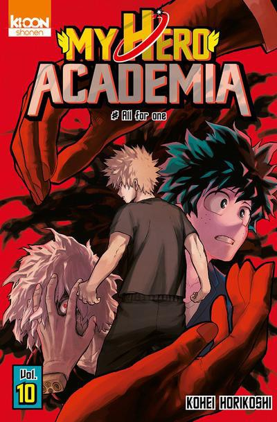 Couverture de My Hero Academia -10- All for one