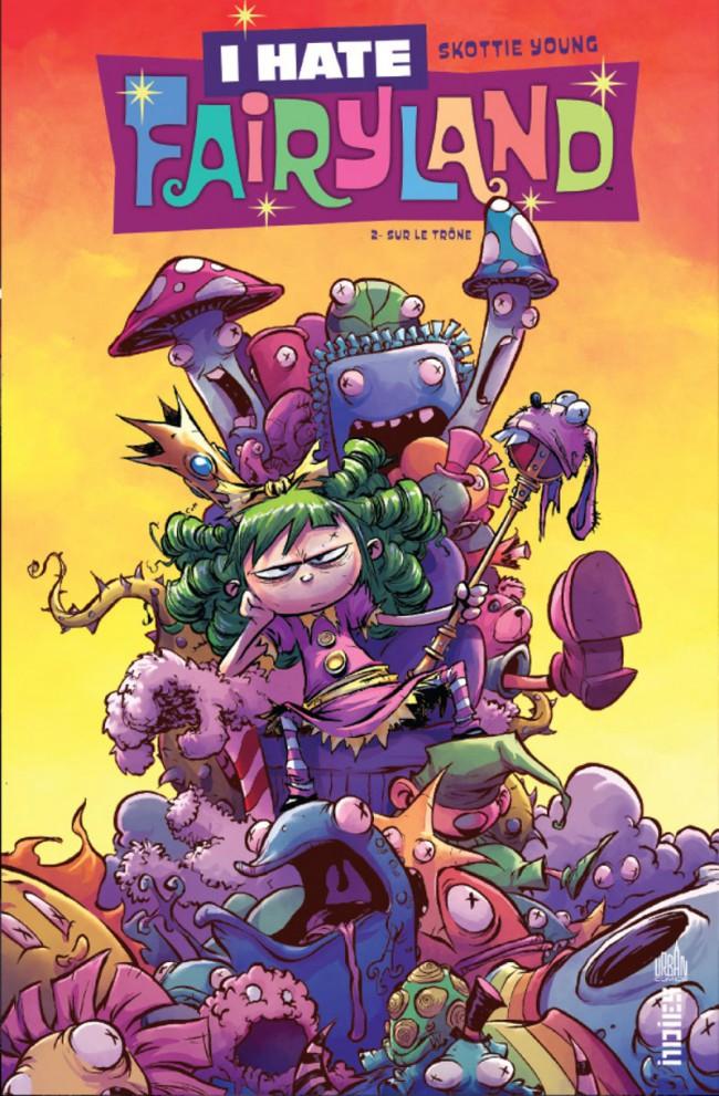 Couverture de I Hate Fairyland -2- Sur le trône