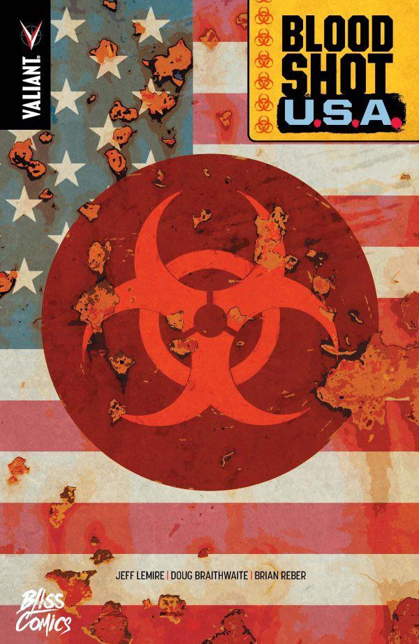 Couverture de Bloodshot U.S.A.