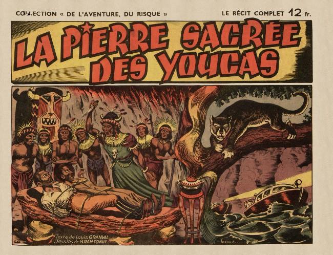 Couverture de La pierre sacrée des Youcas - La Pierre sacrée des Youcas