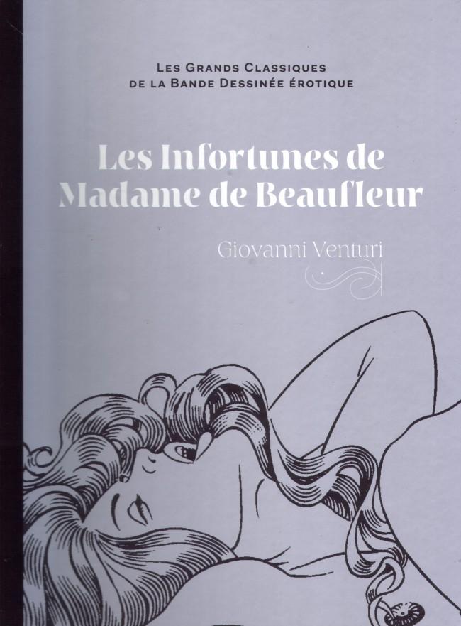 Couverture de Les grands Classiques de la Bande Dessinée érotique - La Collection -3756- Les infortunes de Madame de Beaufleur