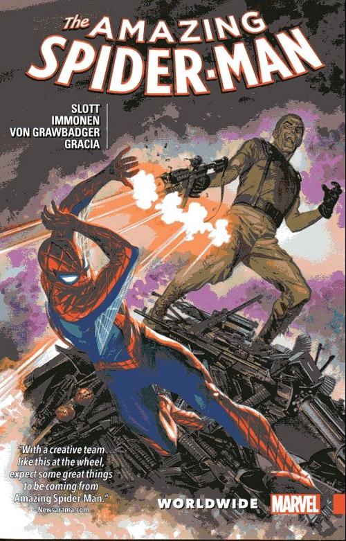Couverture de Amazing Spider-Man (The) (2015) -INT06- Worlwide 6