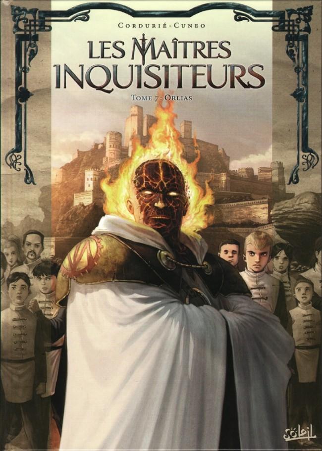 Couverture de Les maîtres Inquisiteurs -7- Orlias