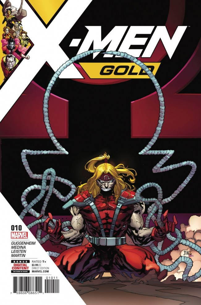 Couverture de X-Men: Gold (2017) -10- En'Kane: Part 1