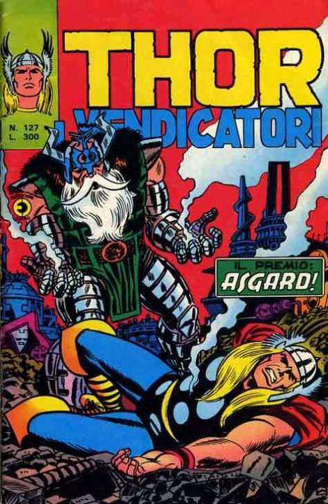 Couverture de MiticoThor (Il) -127- Il Premio: Asgard