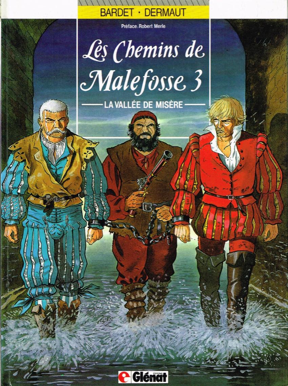 Couverture de Les chemins de Malefosse -3- La vallée de misère