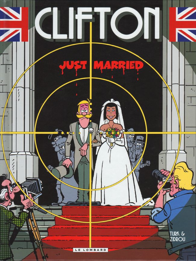 Couverture de Clifton -23- Just married
