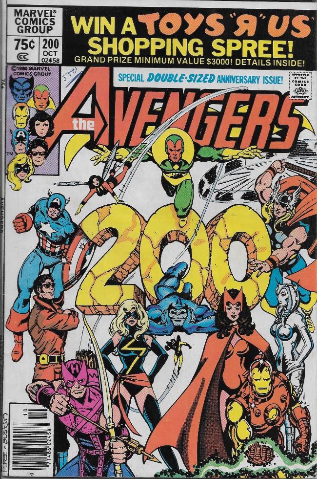 Couverture de Avengers Vol. 1 (Marvel Comics - 1963) -200- The Child is Father to...?