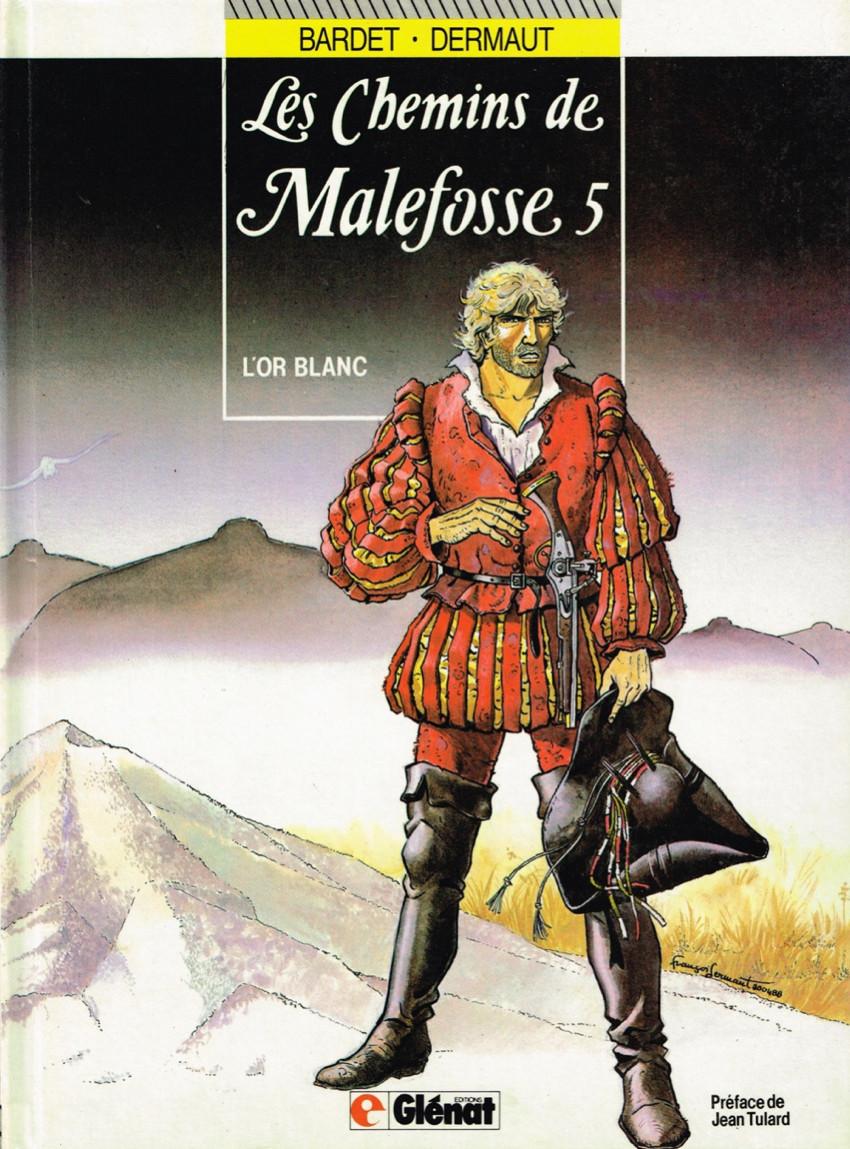 Couverture de Les chemins de Malefosse -5- L'or blanc