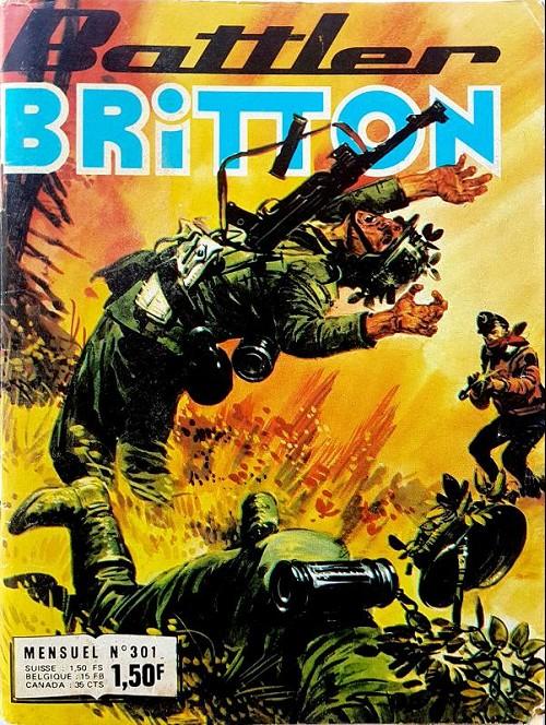 Couverture de Battler Britton -301- L'homme de Munderson - Naufragés - Le dernier cigare