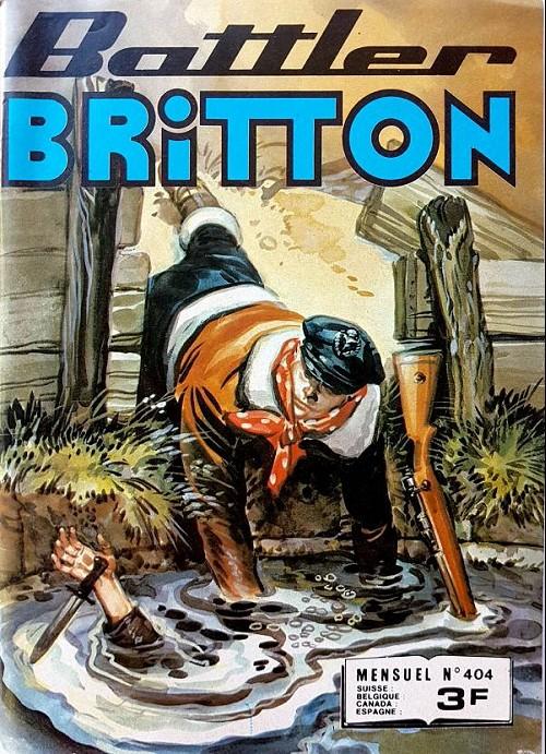 Couverture de Battler Britton (Imperia) -404- Le fléau de l'atlantique - Triple coup