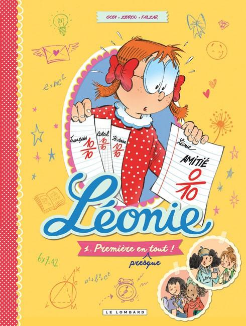 Couverture de Léonie -1- Première en (presque) tout !