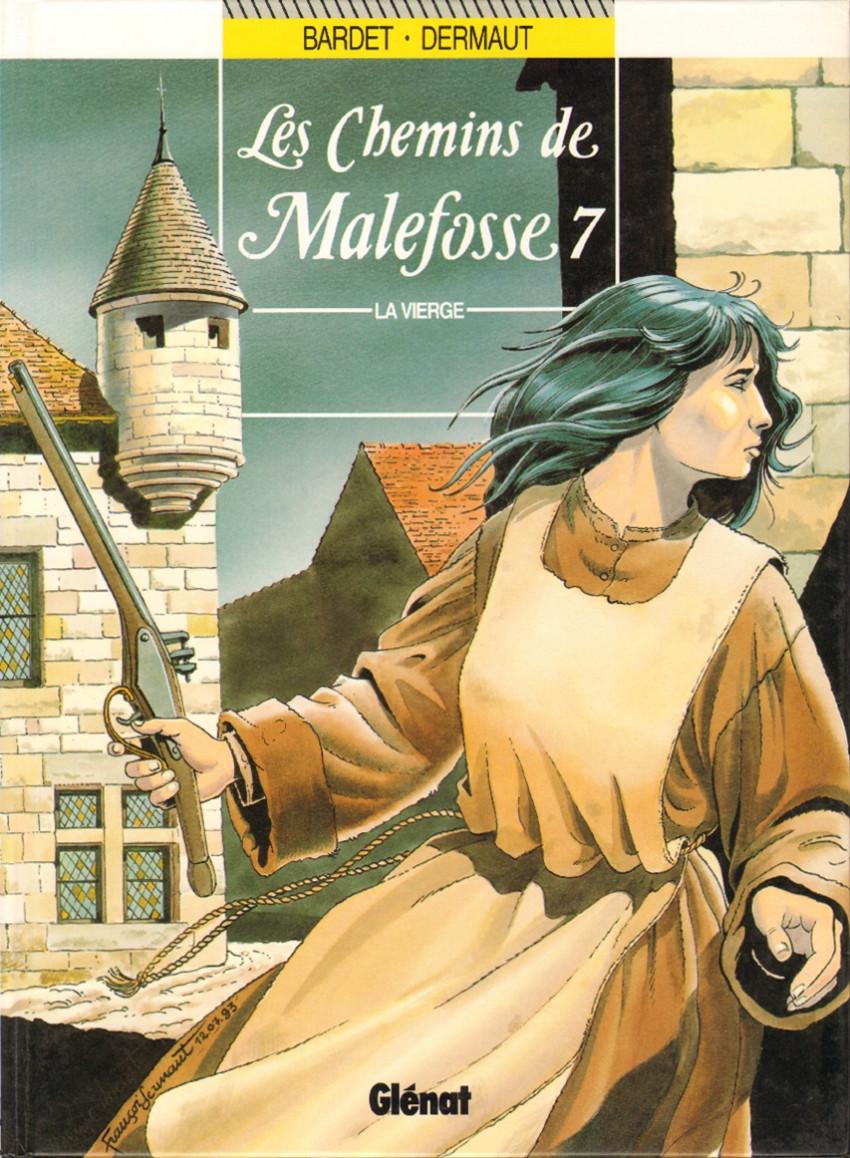 Couverture de Les chemins de Malefosse -7- La vierge