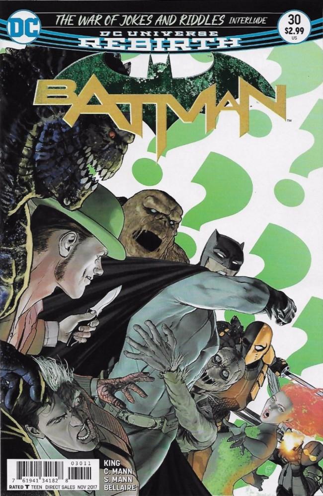Couverture de Batman (2016) -30- The Ballad of Kite Man, Part Two