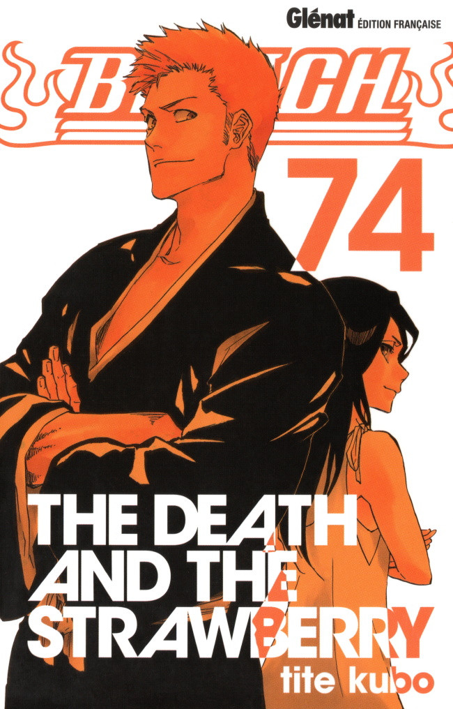 Couverture de Bleach -74- The Death and the strawberry