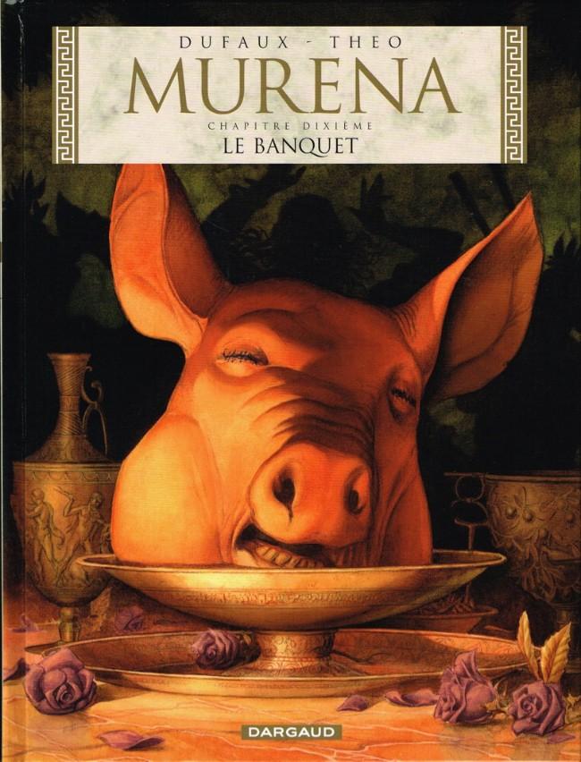 Couverture de Murena -10- Le Banquet