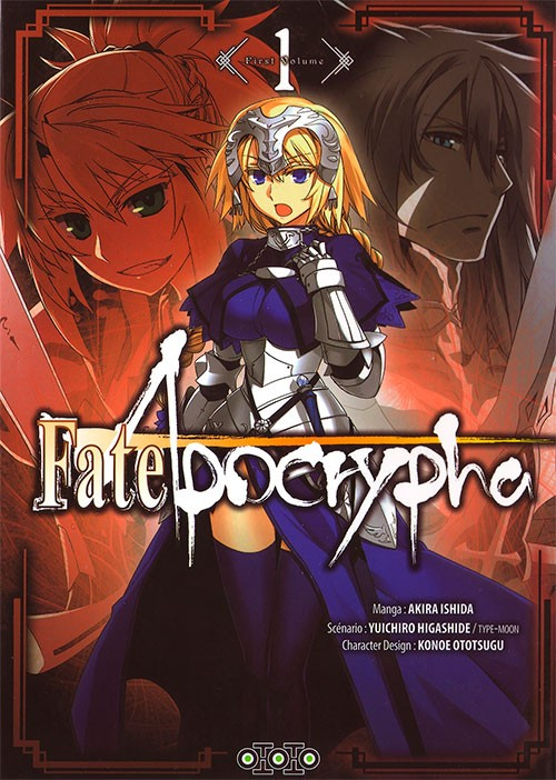Couverture de Fate/Apocrypha -1- Tome 1