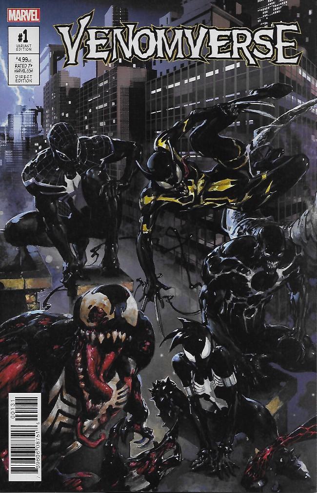 Couverture de Venomverse (2017) -1A- Issue #1