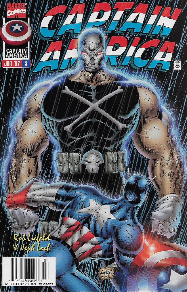 Couverture de Captain America (1996) -3- Patriotism
