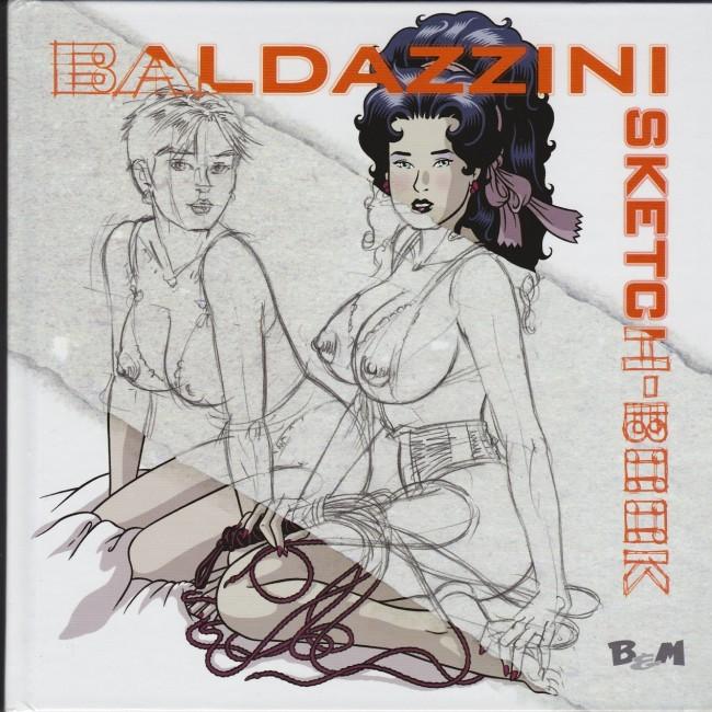 Couverture de (AUT) Baldazzini - Baldazzini Sketch-Book