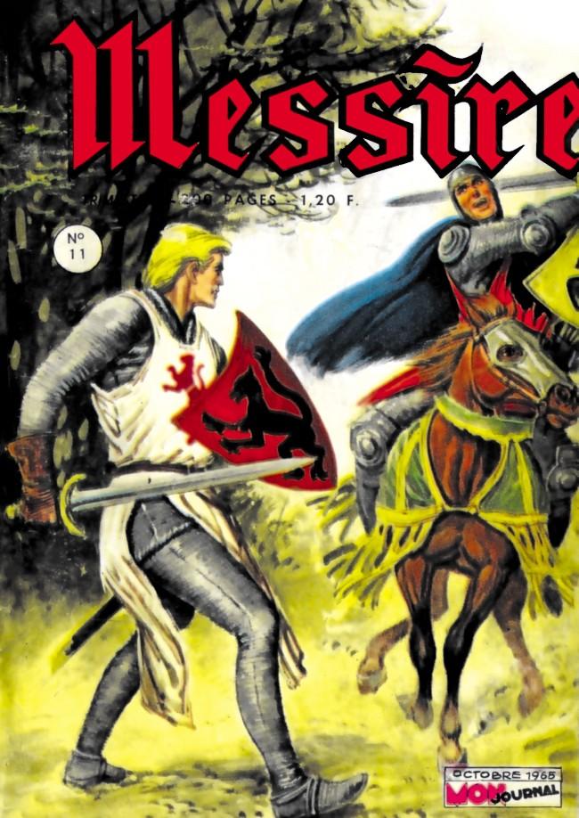 Couverture de Messire (Mon Journal) -11- Lancelot - Le chevalier déshérité