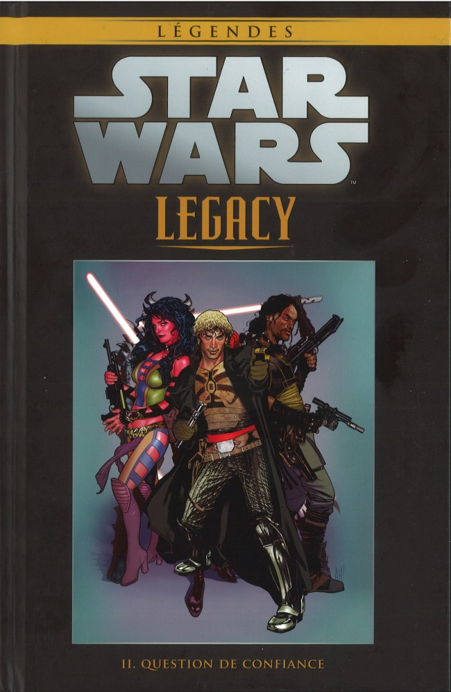 Couverture de Star Wars - Légendes - La Collection (Hachette) -4886- Star Wars Legacy - II. Question de Confiance