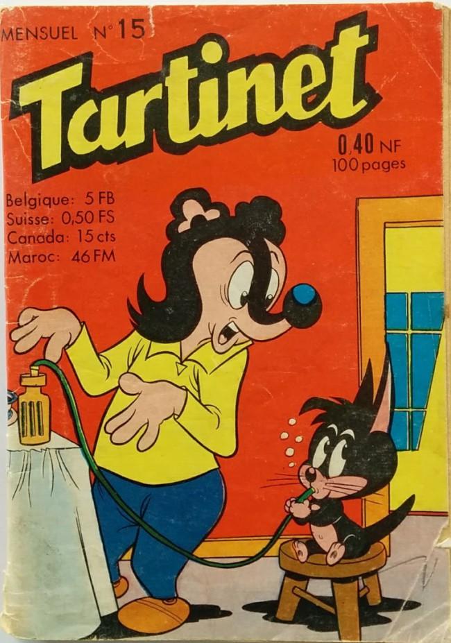 Couverture de Tartinet -15- Le grand cirque