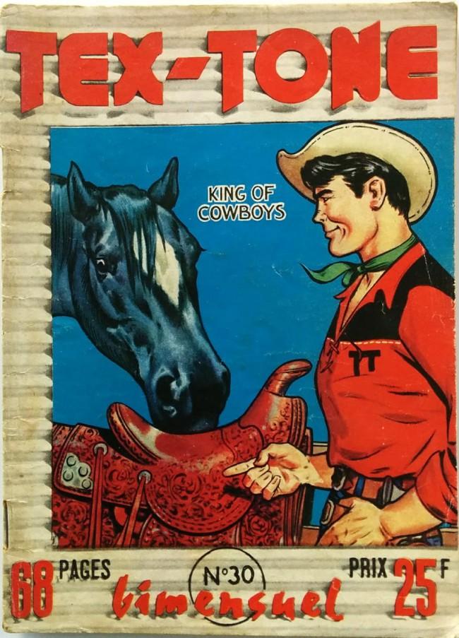 Couverture de Tex-Tone -30- Tex-Tone et le jeune Elmer