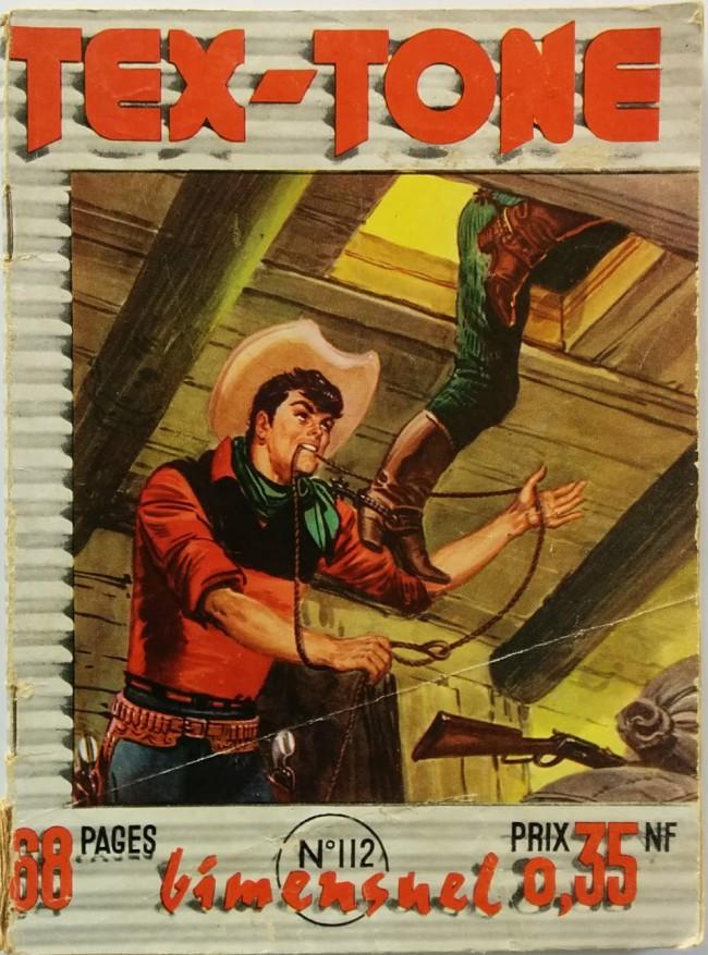 Couverture de Tex-Tone -112- Tex-Tone, la mauvaise route