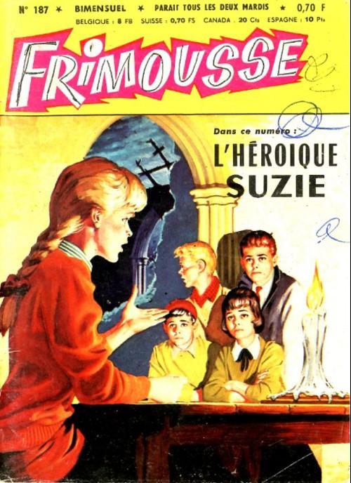 Couverture de Frimousse et Frimousse-Capucine -187- L'héroïque suzie