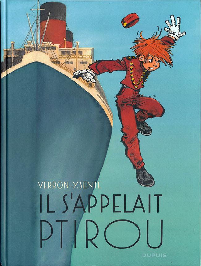 Couverture de Spirou et Fantasio (Une aventure de.../Le Spirou de...) -12- Il s'appelait Ptirou