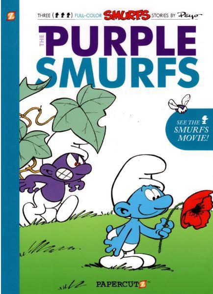 Couverture de SMURFS (les Schtroumpfs en anglais) -1- The Purple Smurf