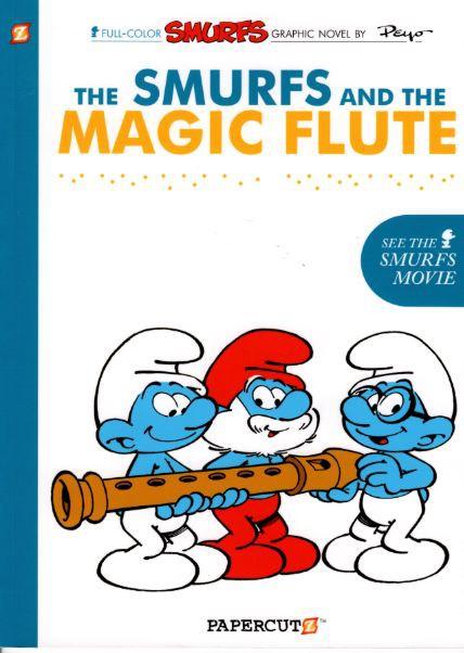 Couverture de SMURFS (les Schtroumpfs en anglais) -2- The Smurfs and the Magic Flute