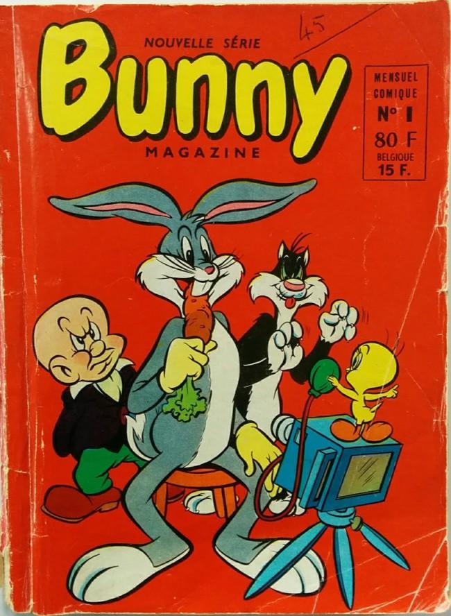 Couverture de Bunny (1re Série - Sage) -1- Les cartouches pacifiques