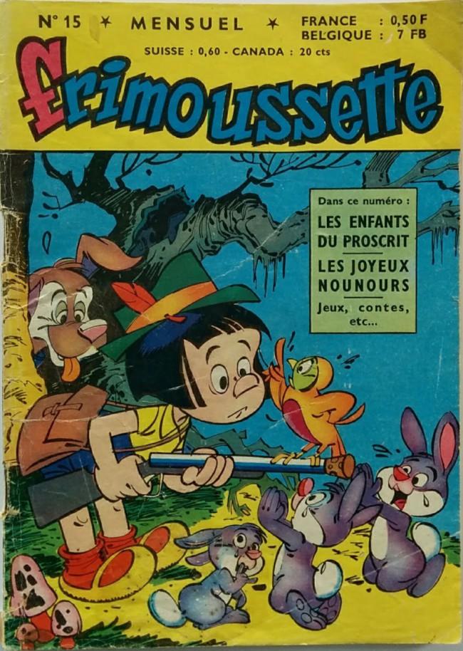 Couverture de Frimoussette -15- Les enfants du Proscrit