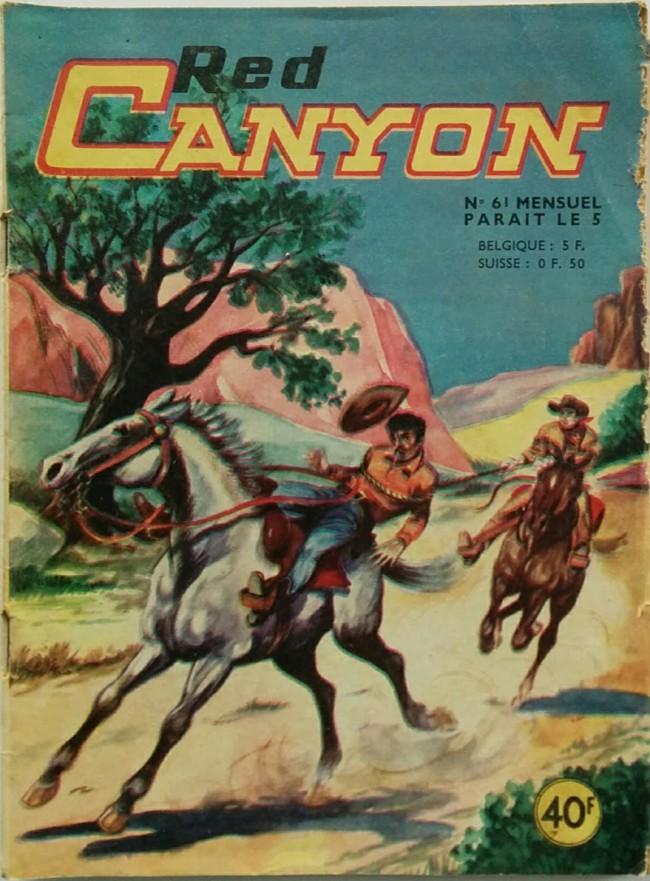 Couverture de Red Canyon (1re série) -61- Incendie dans la nuit