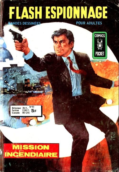 Couverture de Flash espionnage (1re série) -83- Mission incendiaire