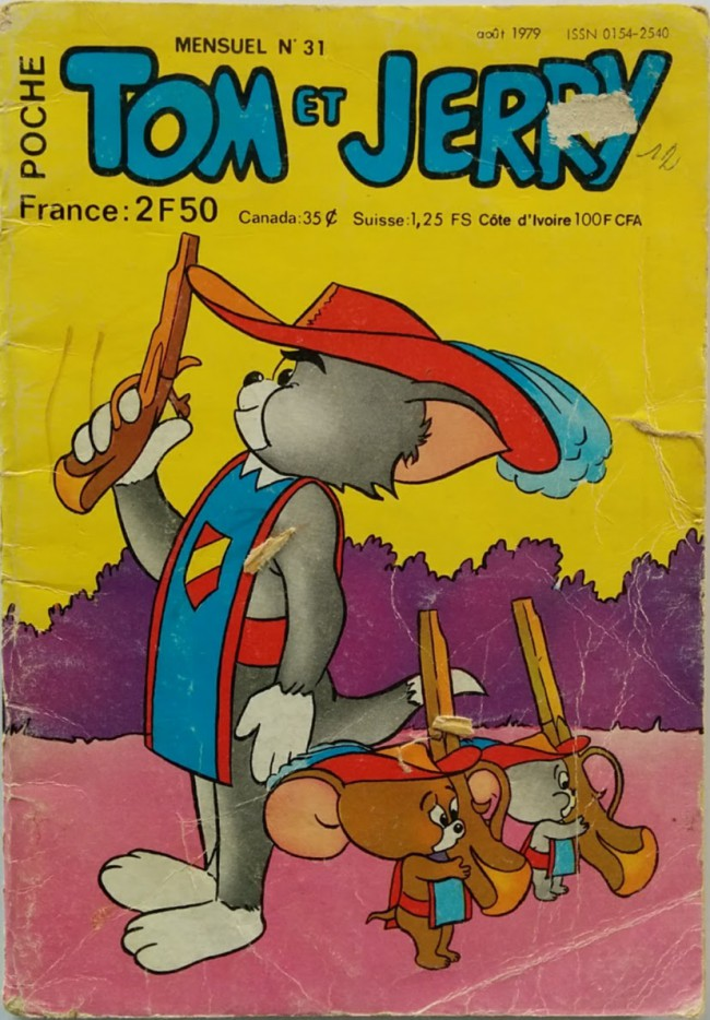Couverture de Tom et Jerry (Poche) -31- Moby Dick la baleine
